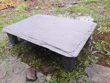 More details for fennstones large shelter hide natural slate rock fish goldfish pond aquarium