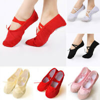 New Pointe Canvas Ballet Shoes Accessory For Woman Dance Slippers Dancing Girl
