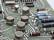 Vintage Burroughs Circuit Board 1968 10 Transistors 11 Integrated Circuit
