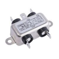 Yunpen YK06T1 Iec-Netzfilter 250VAC 6A Filtros de Ruido