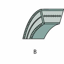 RALLY correa trapezoidal,transmisión,Dimensión 15,8 x 952 ,1130sb LS