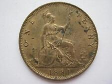 1881 penny, unc. F102.