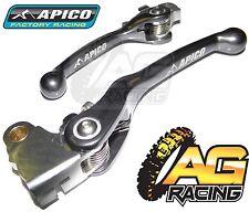 Apico Flexi Lever Set Titanium Clutch & Brake Lever For Yamaha YZ 450F 2009-2012