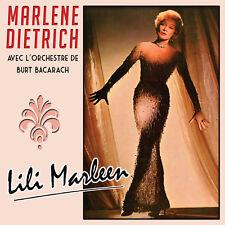 CD Marlene Dietrich avec l'orchestre de Burt Bacharach : Lili Marleen