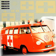 VW T1 Ambulanza vaerlose MILITARE AEROPORTO 1:87 DECALCOMANIA