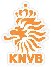 Netherlands KNVB PaesiBassi football calcio adesivo etichetta sticker 9cm x 12cm