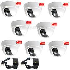 8x Security Cameras with SONY Effio CCD Wide Angle for CCTV Surveillance DVR cc5
