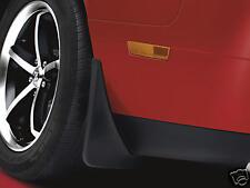 2009 - 2014  Dodge Challenger Rear Molded Splash Guards, Mud Flaps