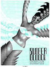 Surfer Blood September 2010 Limited Edition Gig Poster
