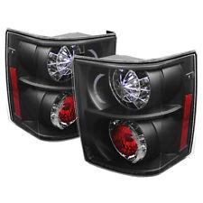 Land Rover 03-05 Range Rover Black LED Rear Tail Lights Brake Lamp Set HSE