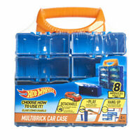HOT WHEELS 8 MODULAR MULTI BRICK CAR CASE DETACHABLE / PLAY / HANG UP - NEW