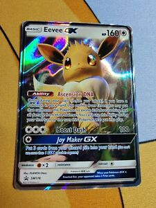 Eevee GX   NM   Black Star Promo SM176   Pokemon