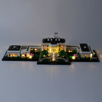 LED Licht Set Für 21054 LEGO Architecture The White House Kit (mit Anleitung)
