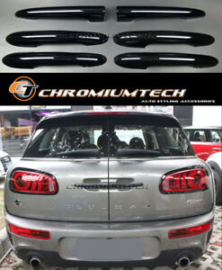 2015 up MK2 MINI Cooper/S/ONE/JCW F54 Clubman Gloss Black Door Handle Covers
