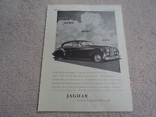 Jaguar Mk. VII  Advertisement  - 1951