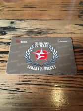 2015 Oceanside Generals Vijhl TIM HORTONS BCHL HOCKEY GIFT CARD Very Rare