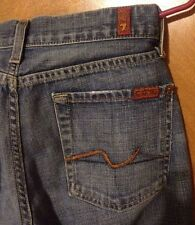 7 SEVEN FOR ALL MANKIND BELL BOTTOM FLARE DENIM JEANS SIZE 27""