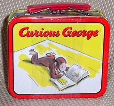 Universal Studio Curious George Mini Tin Lunch Box ~ New MINT Factory Sealed!