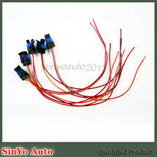 5Pcs Input Speed Sensor Connector Pigtail 2 Wires For  1985-1992 Camaro 350 TPI