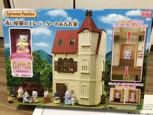 Sylvanian Families Red Roof House with Elevator Lift HA-49 EPOCH Toy for girl