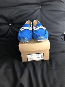 Cole Haan Men's Gunnison Driver Blue (Empire Suede) 10.5 D US