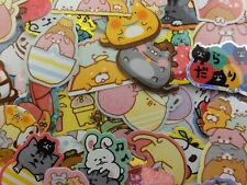 Journal Planner Sleep Relax stacked Animal sticker cute kawaii gift easy day lot
