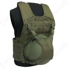 Olive Green Helmet Carry Strap - MOLLE Webbing Carrier Strap Airsoft Army Cadets