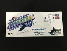 TAMPA BAY DEVIL RAYS SEALED INAUGURAL OPENING DAY 3-31-98 COMMEMORATIVE CACHET