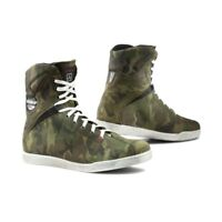 TCX X-Rap Urban Trend Waterproof Scooter Motorcycle Boots Jungle Camo - Sale