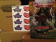 He-Man MOTU Masters of the Universe Classics Eldor w/ sticker sheet MOC figure
