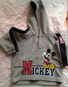 Disney Mickey Mouse baby top, hoodie, 3-6 months