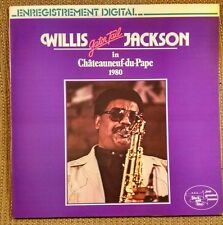 """Willis """"Gator Tail"""" Jackson in Chateauneuf du Pape 1980 LP French~Black and Blue"""