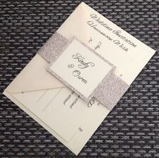 MIA Wedding Invitation with Invite Card, Poem Card and Rsvp with envelope
