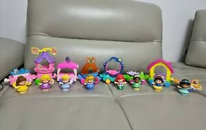 Disney Princess Parade Train 8 Floats Fisher Price Little People