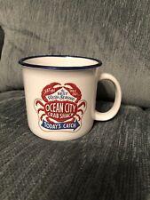 Ocean City Crab Shack Mug Coffee Tea Cup Open Road Brand Best Fresh Seafood