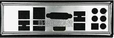 Intel ATX Blende I/O IO shield DH77DF plate #G5468 XH