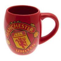Manchester United Official Football Team Tub Design Ceramic Mug Cup Tea Coffee