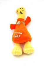 "Olympic 2004 Athens Mascot Athena 8"" Plush Toy Orange New"