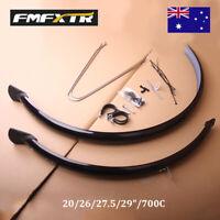 "1 Pair 20/26/27.5/29""/700C MTB/Road Bike Fender Mudguards Plastic Lightweight"