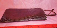 Metal Mesh Purple Eyeglass Case Made in The USA Eyeware Free Shipping