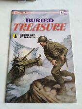 Buried Treasure #4 1991 Caliber Press Comics