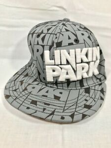 Virtis Bandmerch Linkin Park Rock Band Baseball Hat 2009 Official Rare Flex VTG