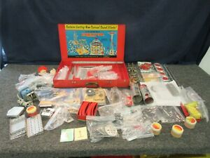 AC Gilbert Vintage Erector Toy Amusement Park Set 10083 Carnival Complete