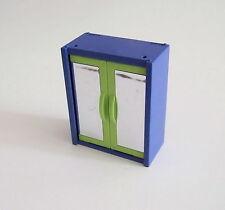 PLAYMOBIL (R261) MAISON MODERNE - Armoire Verte & Bleue Chambre des Parents 3967