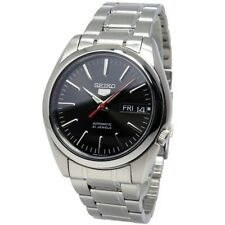 SEIKO 5, SNKL45K1, AUTOMATIC, DATE & DAY, BLACK DIAL, STEEL BAND STRAP