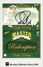 2009-10 Select Cricket Trading Cards 5000 Test Runs Tr8 David Boon