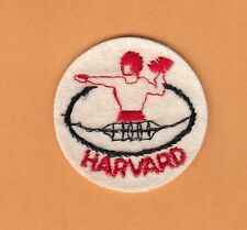 VERY OLD 1950s HARVARD FootBall PATCH UNIQUE Unused Unsold Stock