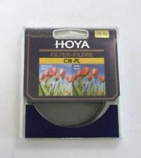 Genuine HOYA 72mm Circular Polarizer CIR-PL CPL
