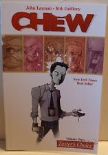 Chew Volume 1 Tasters Choice Layman Guillory Image TPB Graphic Novel Comic Book