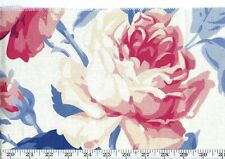 Blue Pink Drapery Fabric Ralph Lauren R$136y American Beauty Floral Cl Bunting